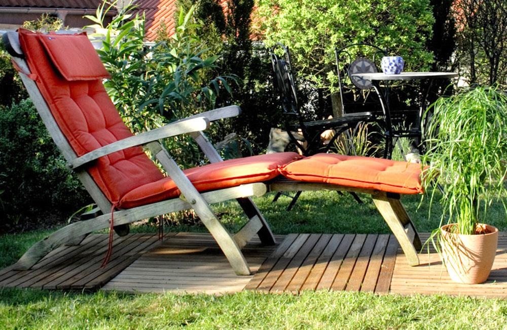 Polytex Matratzen Sitzkissen Liegestuhl