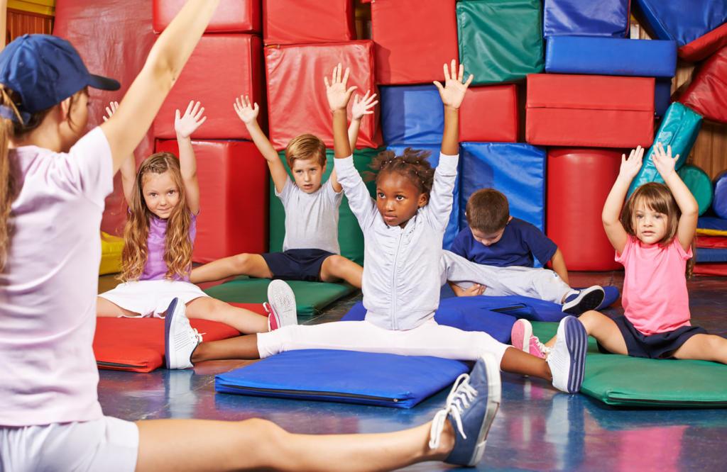 Polytex Matratzen Kindersport auf Spiel- & Turnmatten