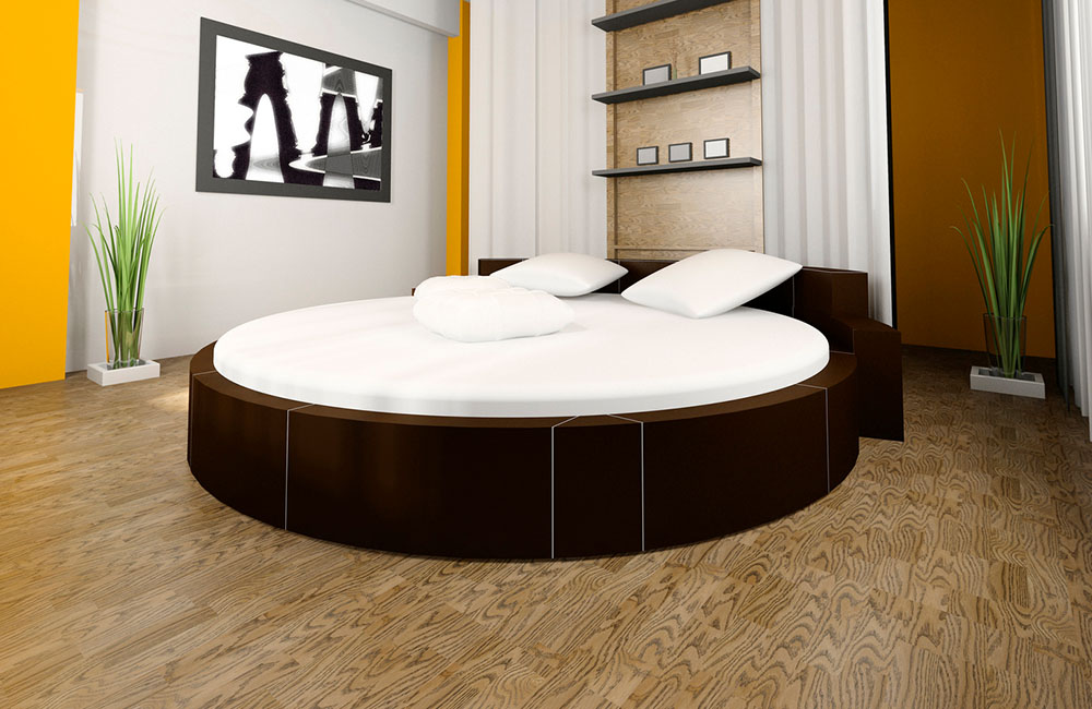 Polytex Matratzen rundes Bett Sonderformen