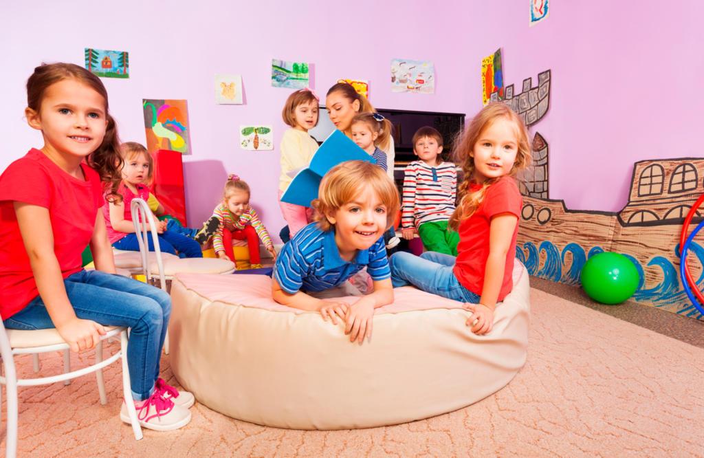 Polytex Matratzen Kinder auf Spielpolster
