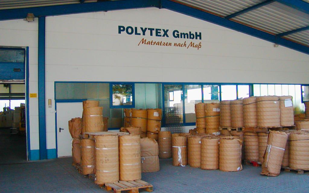 Polytex Matratzen Lagereingang